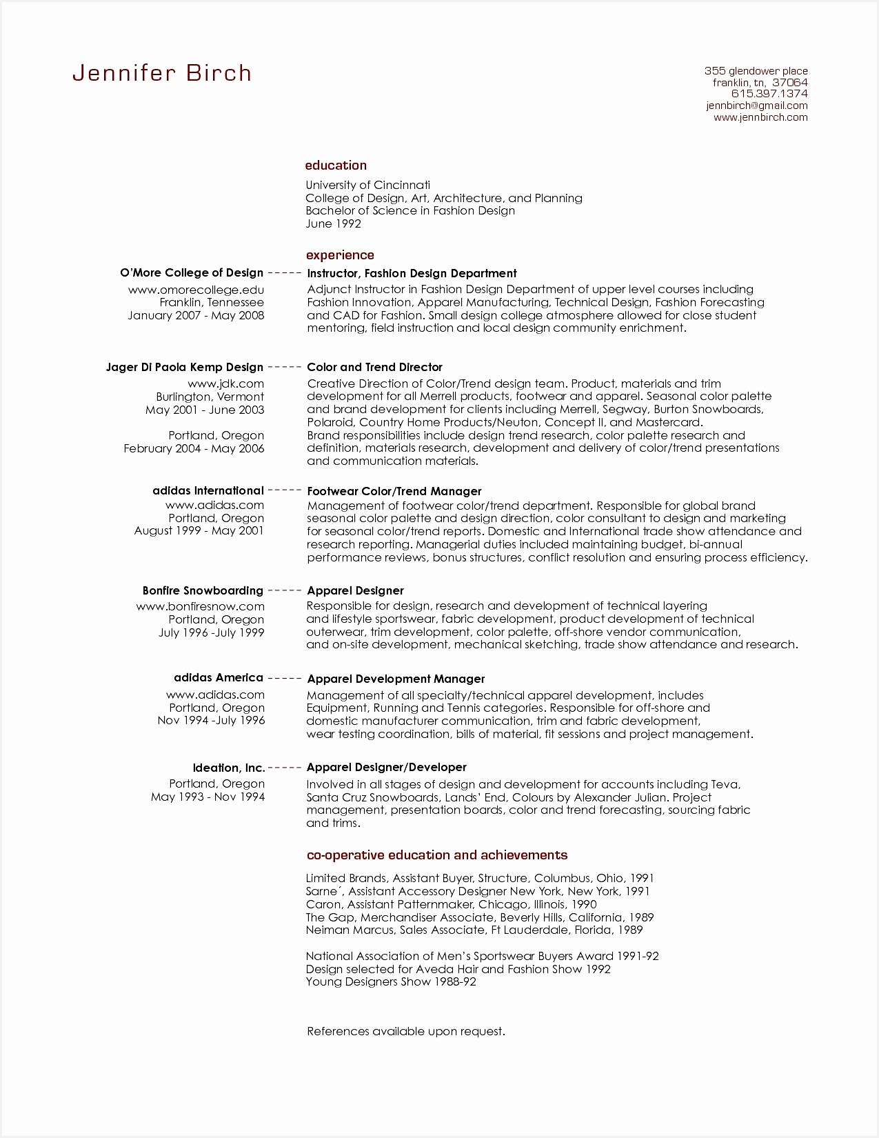 Executive Resume Examples Awesome Professional Resume format16501275