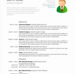 9 Latex Resume Template