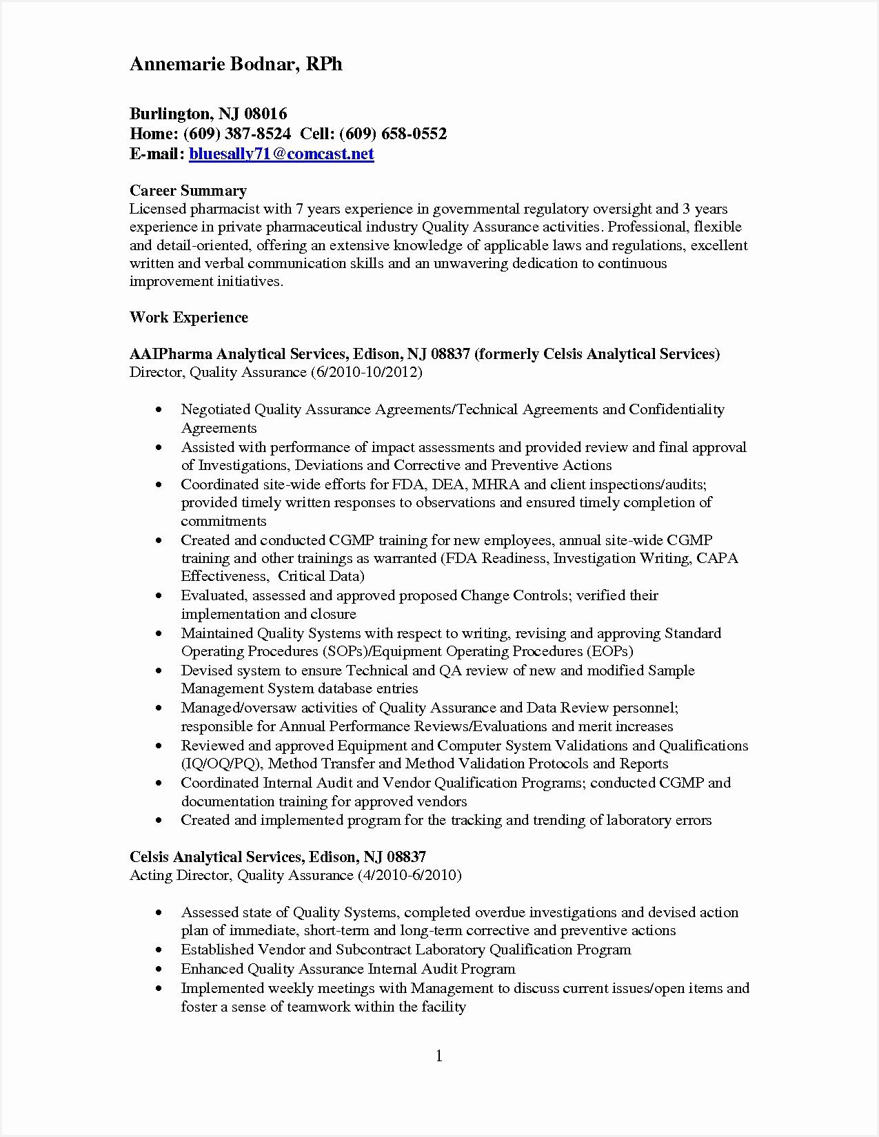 Pharmaceutical Cv Examples Elegant Tester Resume Resume format Pdf software Testing Help Pharmaceutical Cv Examples16501275