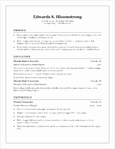 free able resume templates word traditional template for microsoft494382