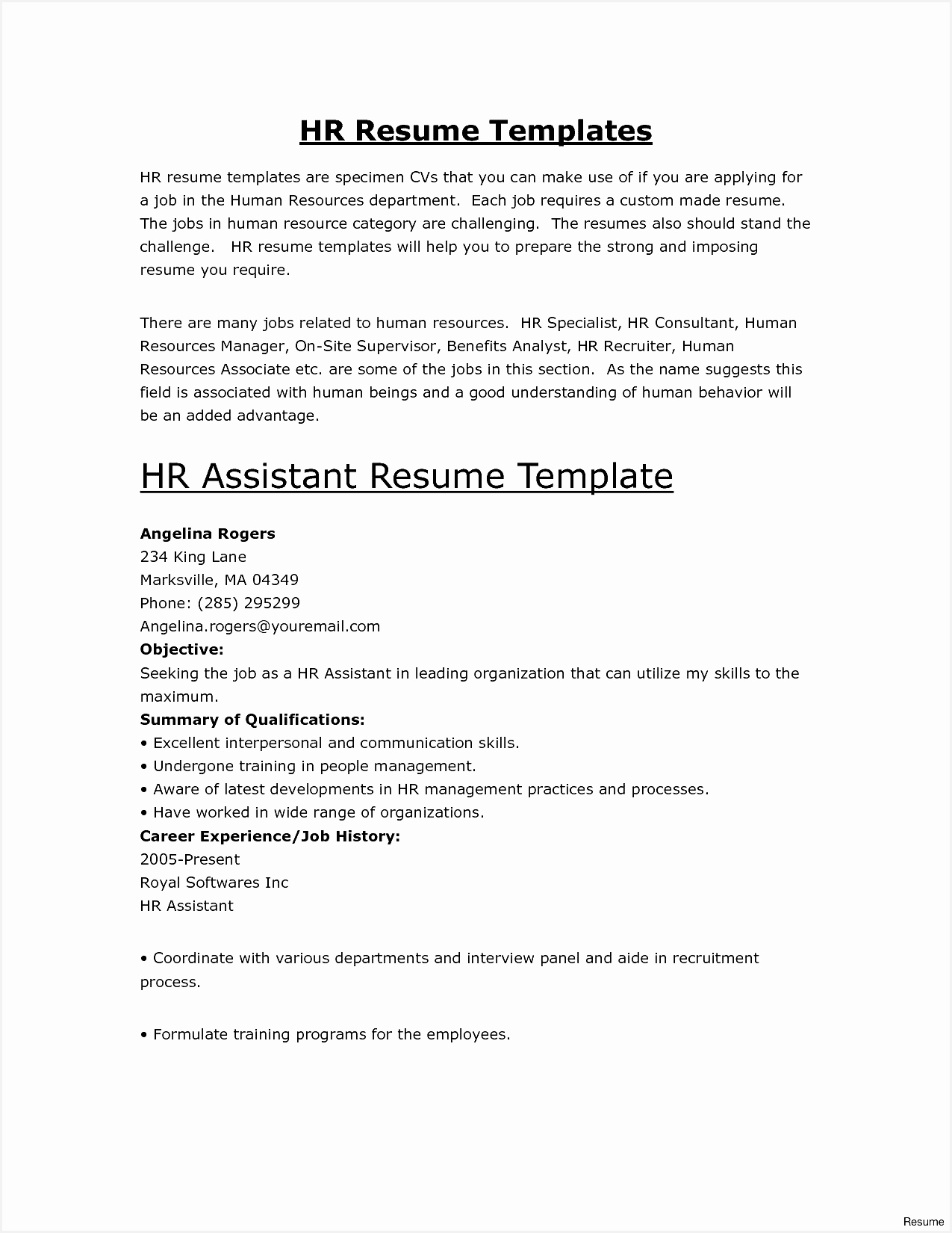 Resume Templates Free Fresh where Related Post16501275