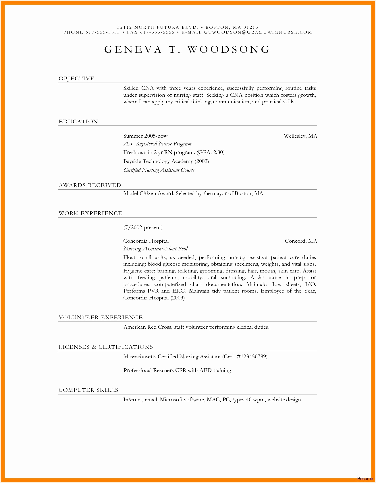 Free Sample Resume Templates New New Blank Resume format Resume Templats Unique formatted Resume 0d16841309