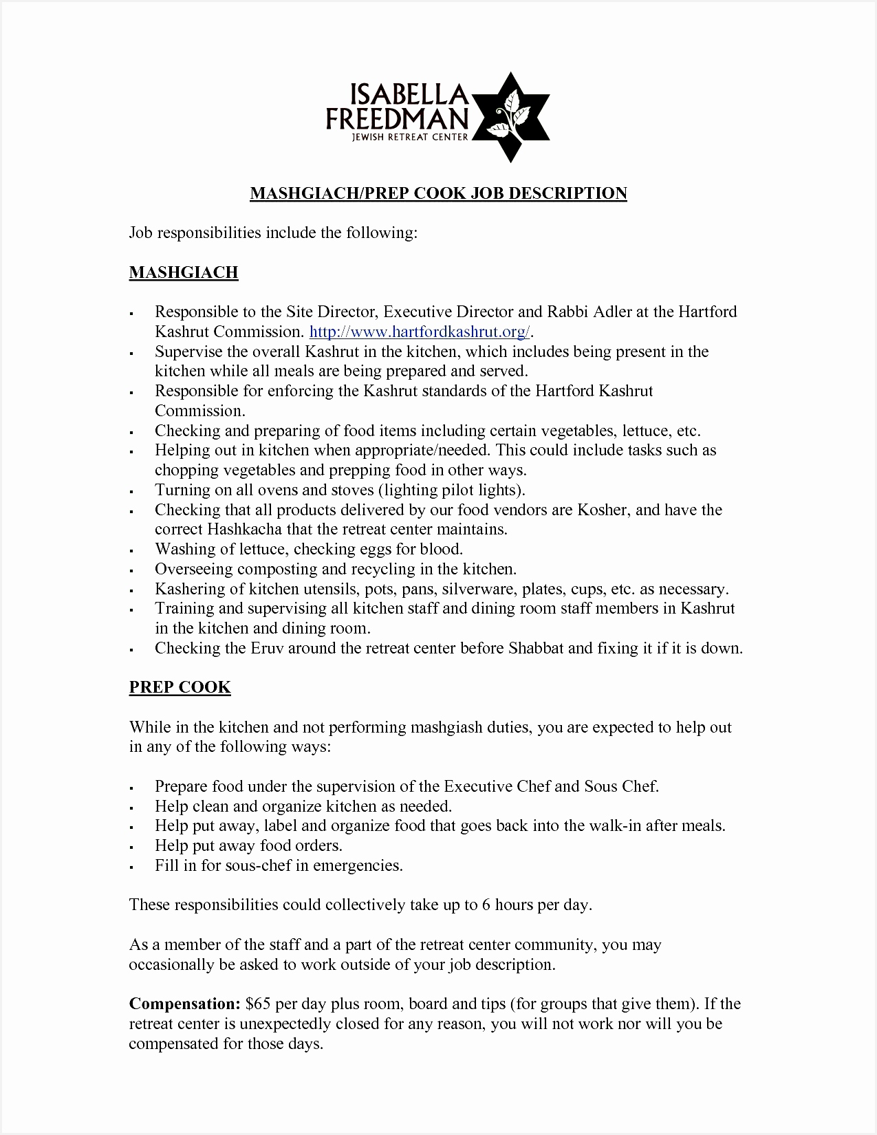 Cook Resume Example Best Example Resume Cover Letter Lovely Od Specialist Sample Resume Wind16501275