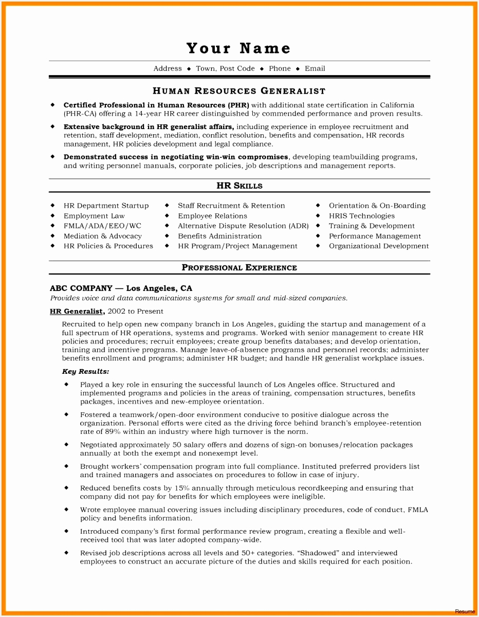 19 a great resume professional fresh new resume1200932