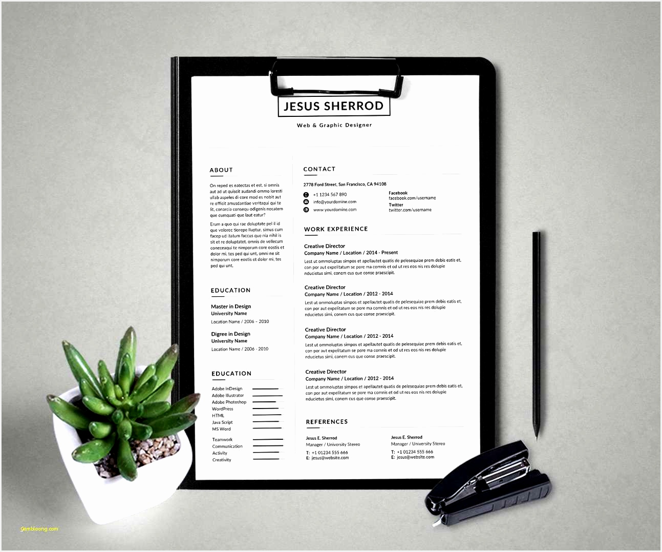 Free WordPress Resume theme Unique Resume for Teachers Template with Modern Resume Template Cv Template10771293