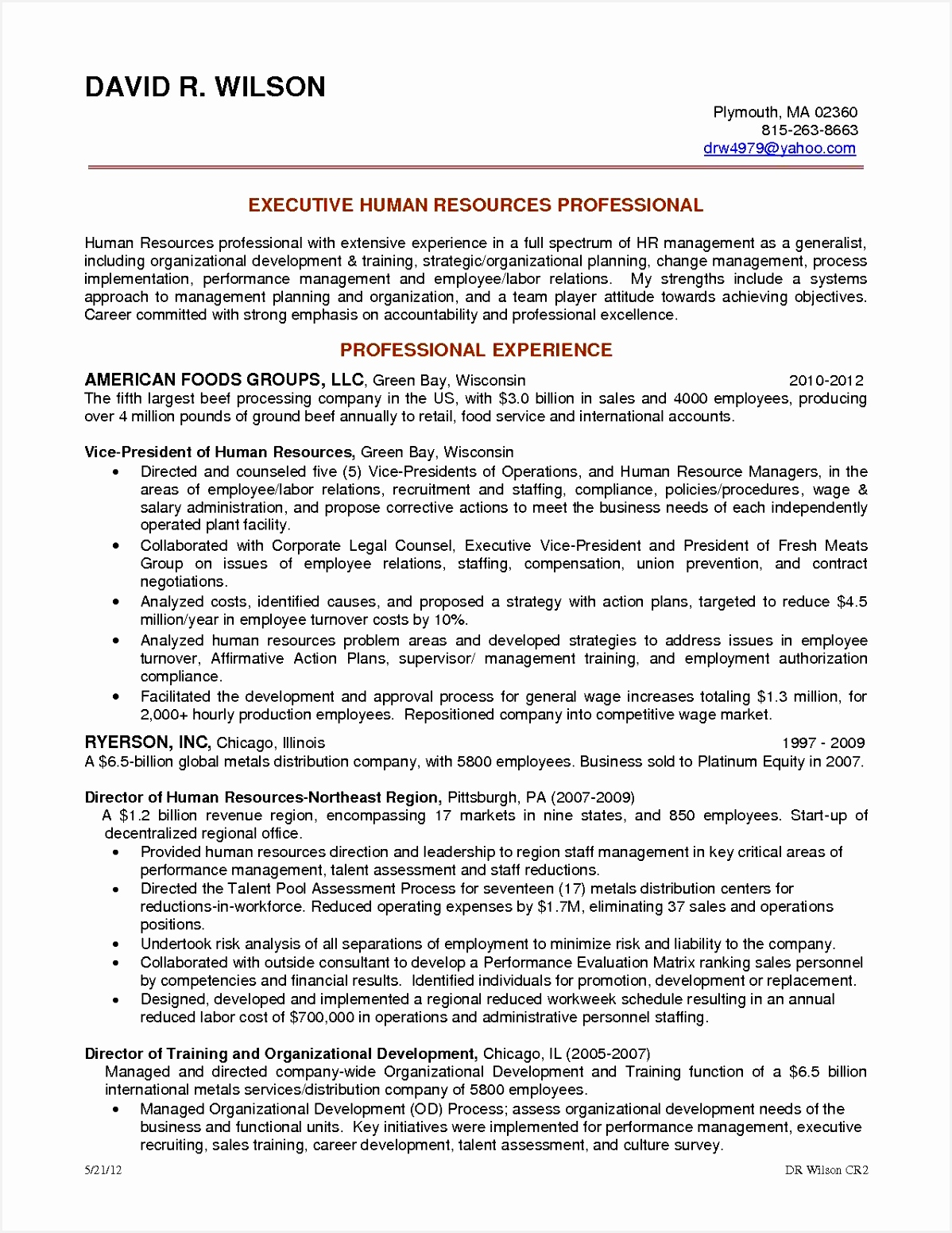 Maintenance Job Description Resume Best Humansources Generalist Job Description Sample and Duties Hr15511198fjd5r