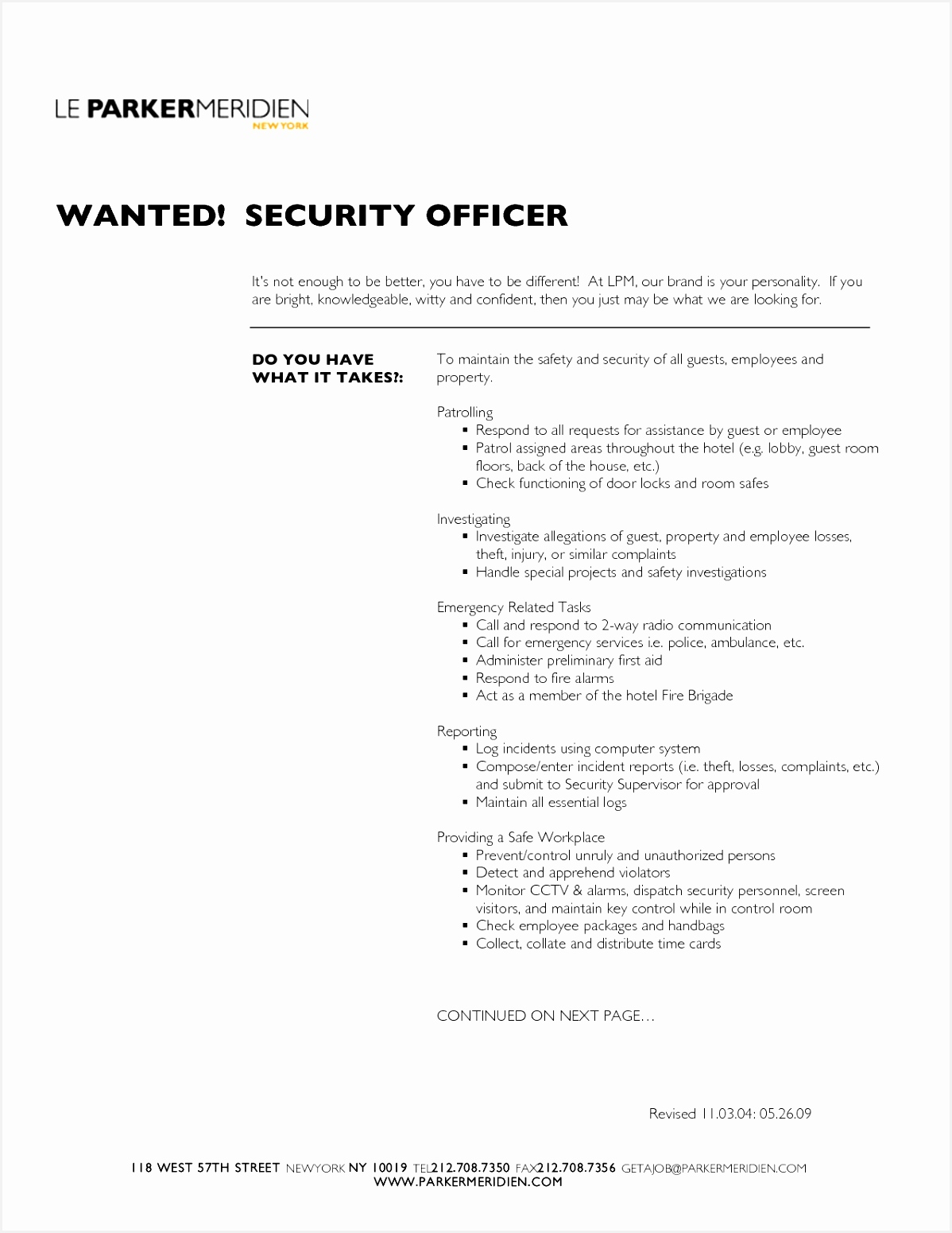 Sample Resume For Security ficer Supervisor Refrence Security Resume With No Experience Professional Entry Level15511198