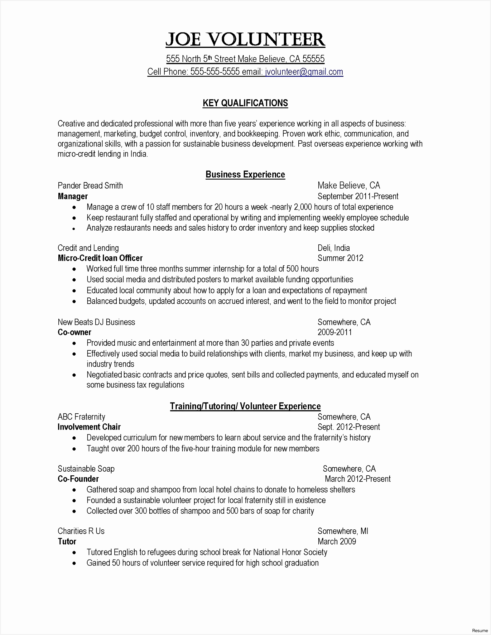 Accounting Resume Objective Elegant Resume Puter Skills Examples Fresh Od Specialist Sample Resume20681598dgZde