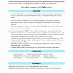 5 Sample Senior Accountant Resume