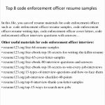 5 Zoning Officer Sample Resume