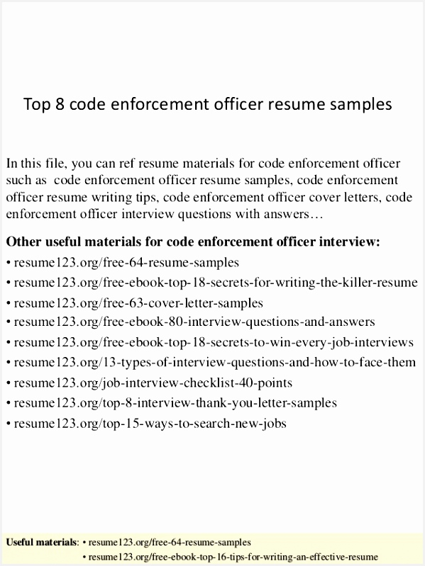 5 zoning officer sample resume weurnl