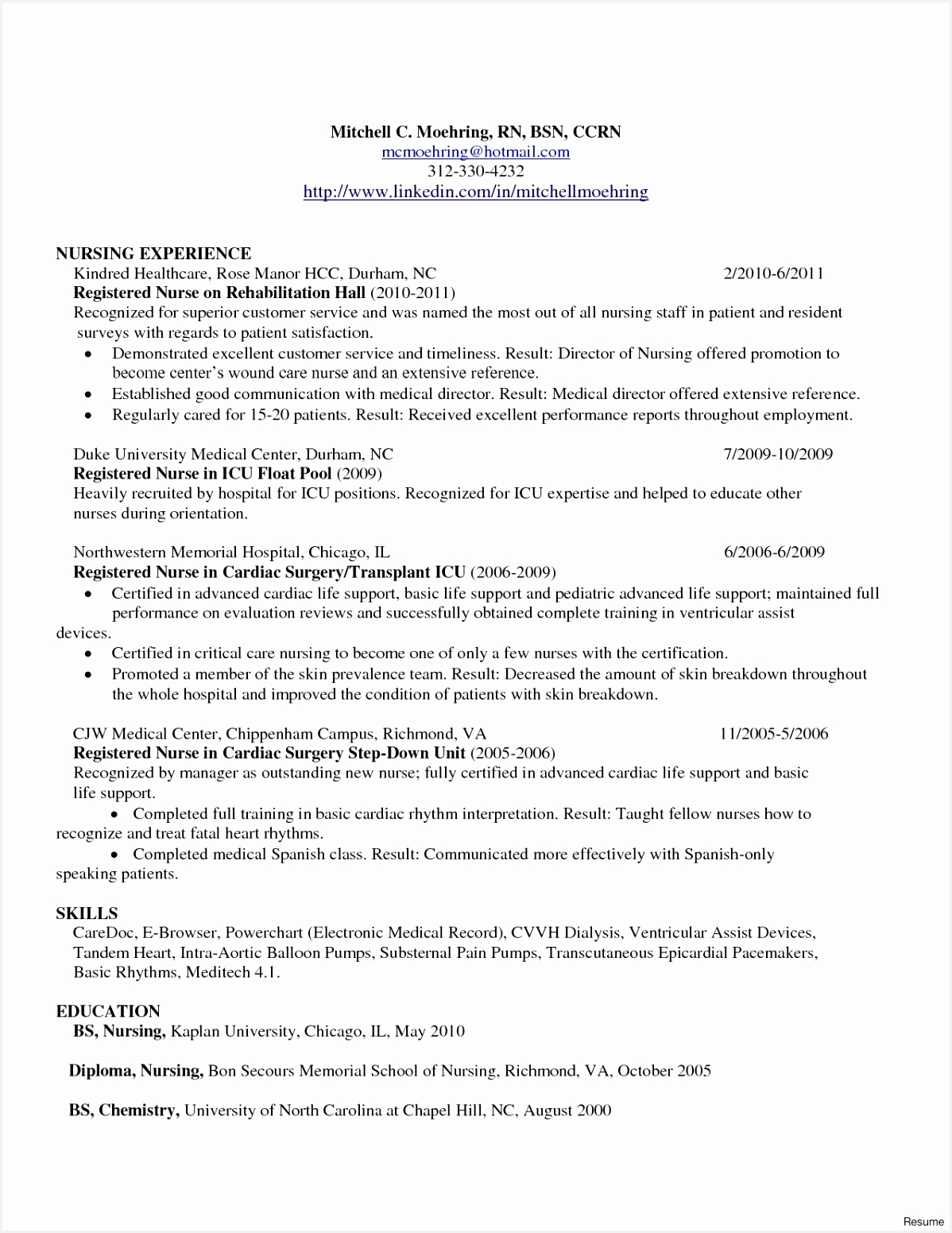Elegant New Nurse Resume Awesome Nurse Resume 0d Wallpapers 42 15511198umguq