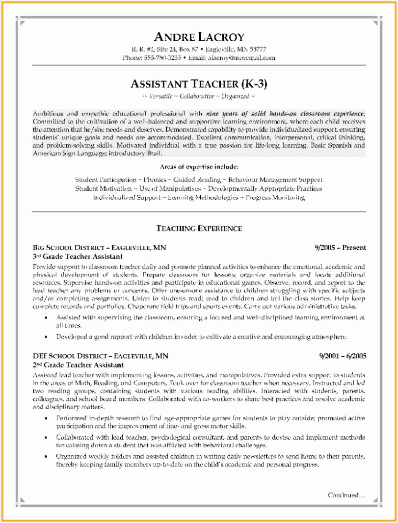 Examples Resumes for Jobs Cgytp New Gallery assistant Resume Awesome Examples Resumes Ecologist Resume1066811