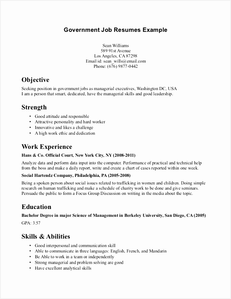 Examples Resumes for Jobs J0iah Inspirational 46 Ideal Resume Examples for Jobs Od U – Resume Samples1033798