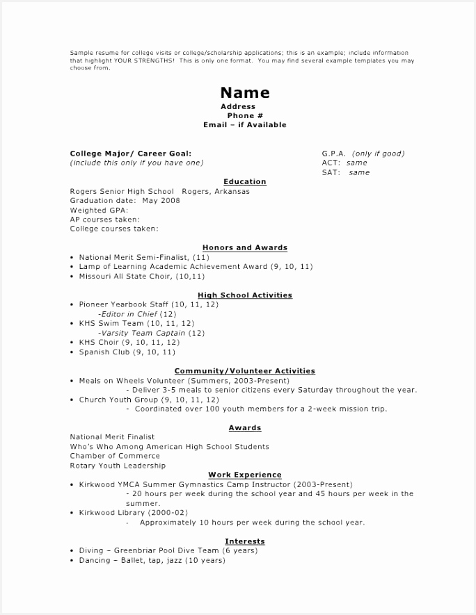 Free Sample Resume Template Aagcr Inspirational 30 Free Resume with No Work Experience Template format Of Free Sample Resume Template Yrygs Fresh 20 Resume format Examples