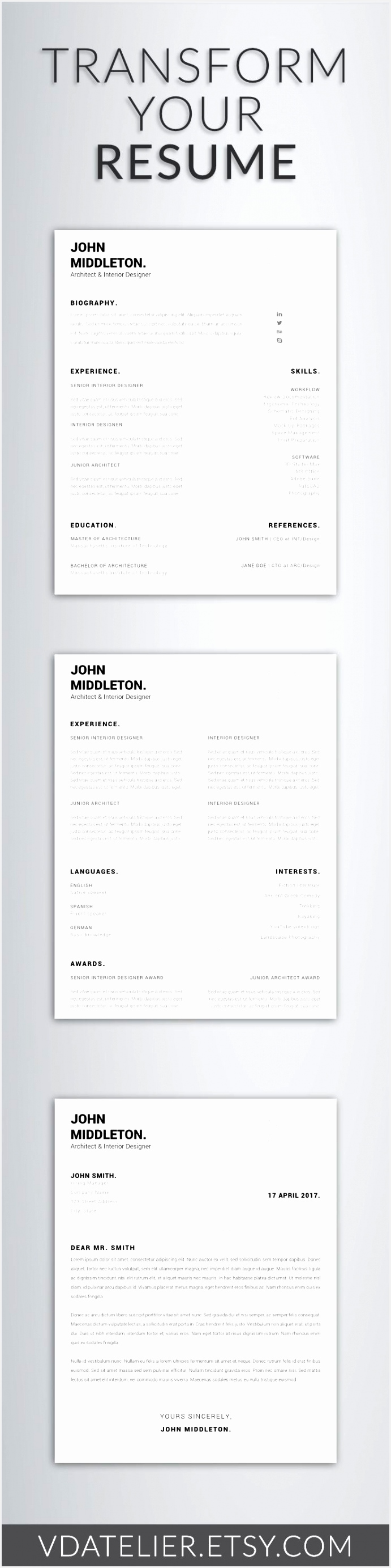Head Teacher Resume Ucq3n Inspirational Modern Resume Template New Resume Template Cv Template Cover Letter2766691