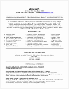 Quality Control Inspector Resume Sample Qgtks Lovely 21 Best Best Construction Resume Templates & Samples Images On286221