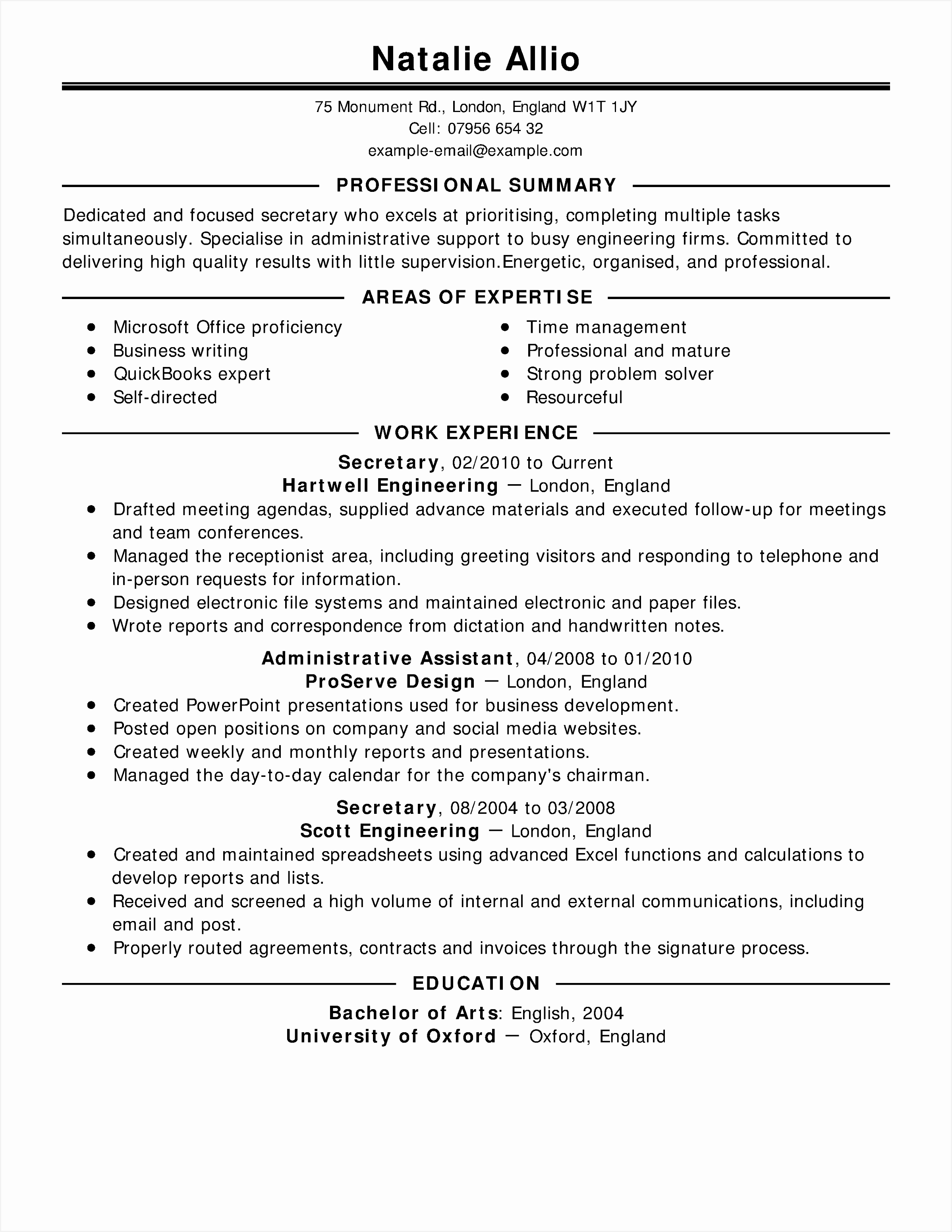 Resume Examples Executive assistant Wckfh Awesome Objective for Medical Fice assistant Resume Personal Resume31022397