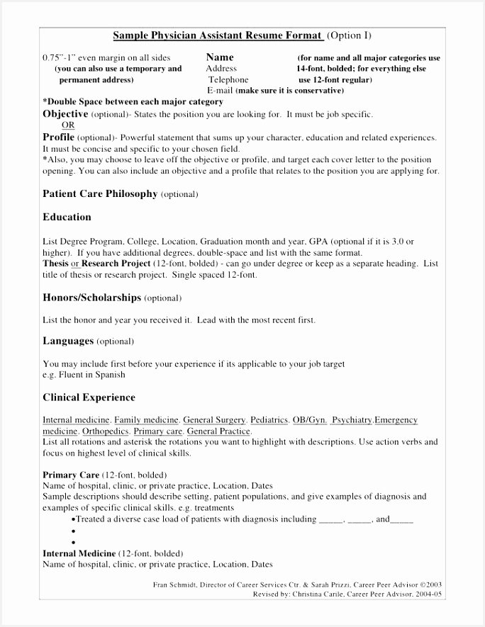 Resume for Graduate School Sample – Med School Resume Template @ Resume Samples For Graduate School
