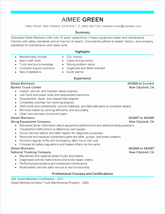Resume Templates for Truck Drivers Yagfr Lovely Truck Driver Resume Template Of 9 Resume Templates for Truck Drivers