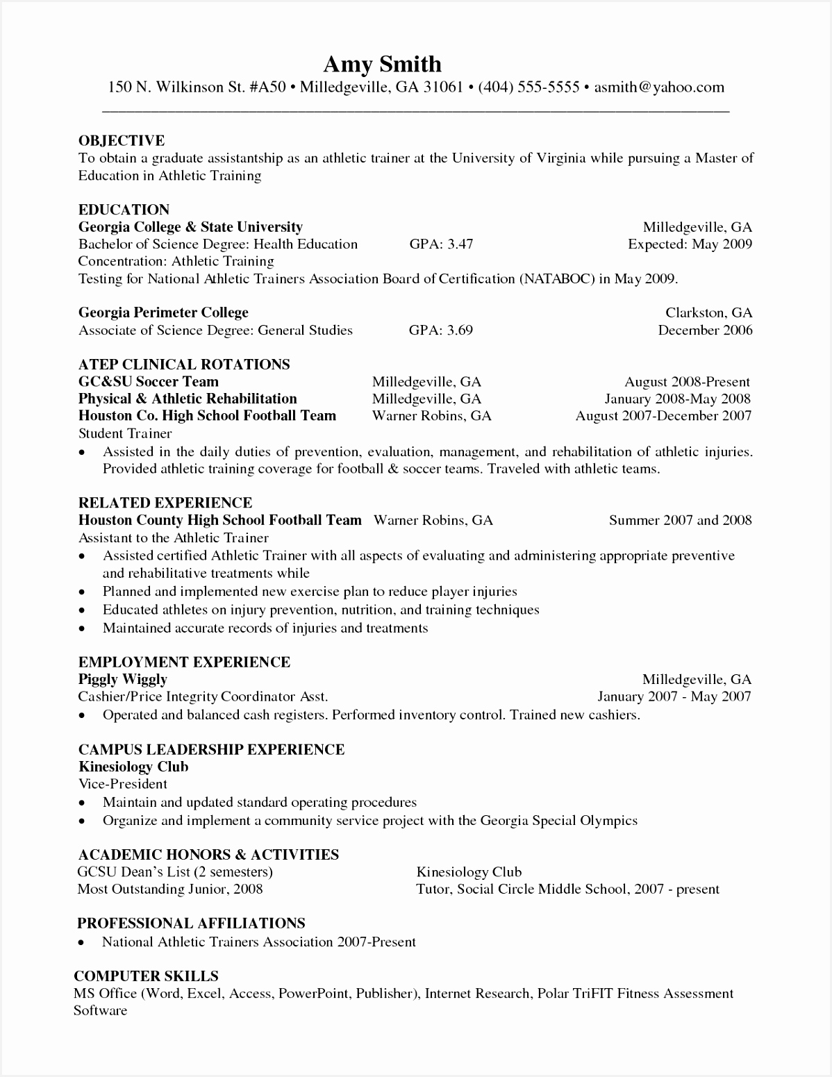 Resume format for Internship Engineering Elegant Luxury Grapher @ Resumes Format For Freshers