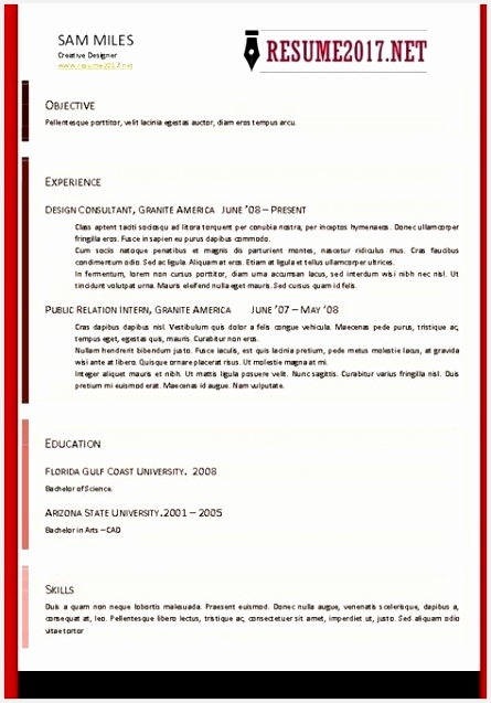 Resumes format for Freshers Dvwno Beautiful Resume formats New Beautiful 12 Unique New Resume format for637445
