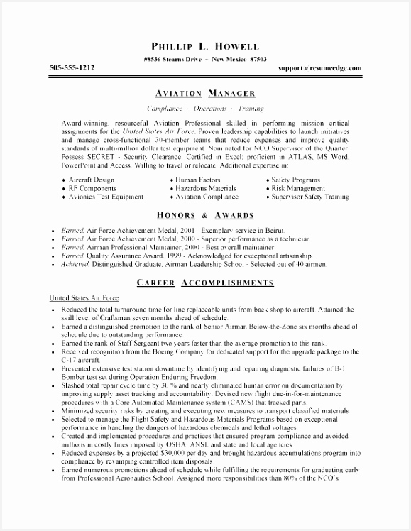 Sample Military Resume Examples Narrative Resume Samples Free Templates Military Resume 0d 748579vbskc