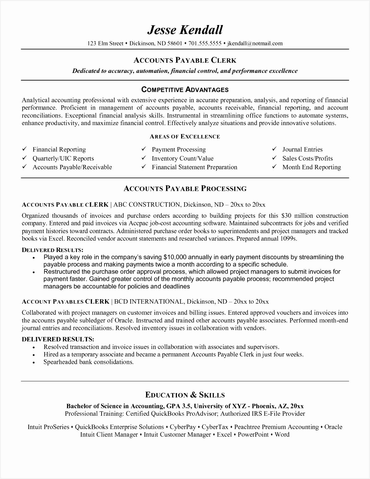 Accounts Receivable Clerk Resume Sample Free Downloads Accounts Receivable Clerk Resume Best Od Specialist Sample Resume 155111987kgn