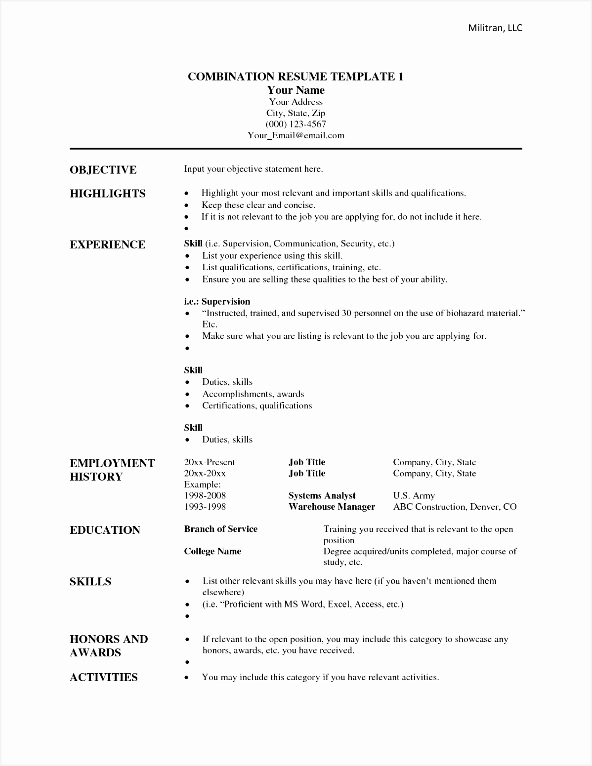 6 awesome resume template ahqola