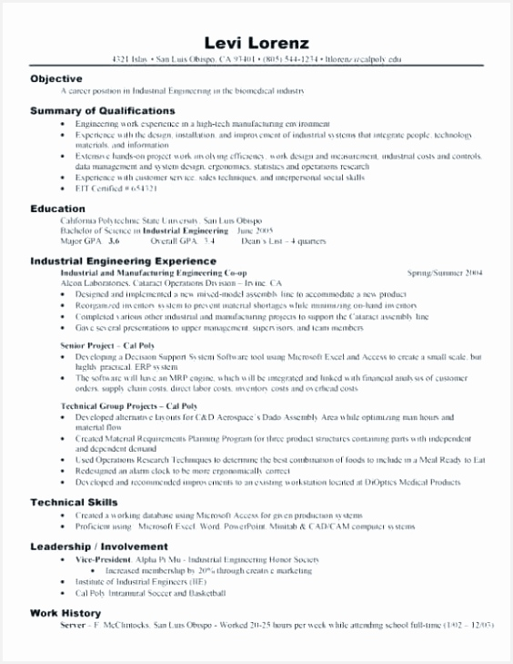 Resume Objective for Customer Service – Example Resume Objectives Scholarship Resume 0d Professional Example 729564fnrUa