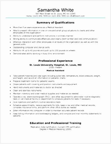 Certified Medical assistant Resume Sample 2hmve Lovely 16 Free Medical assistant Resume Templates Of 4 Certified Medical assistant Resume Sample