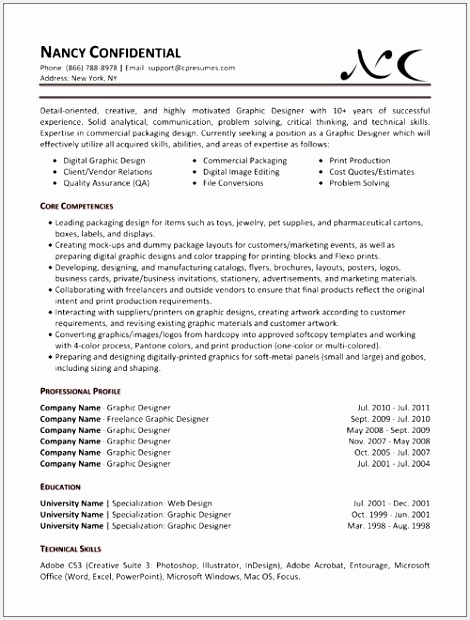 9 sample resume templates