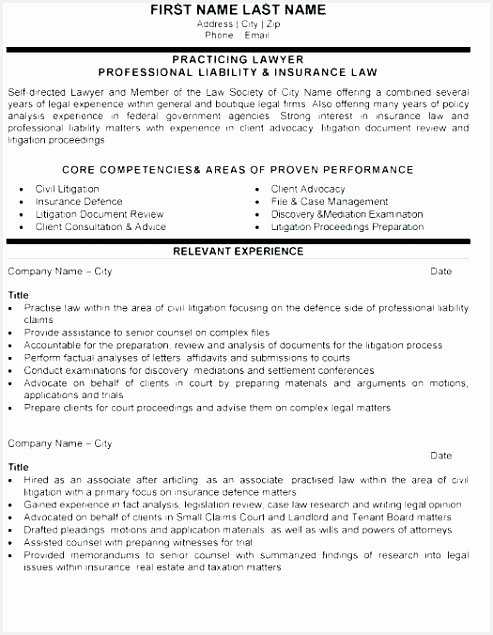 Civil Law attorney Resume Tkguk Fresh Canada Cv format Example Resume Sample Samples for Nurses Template635493