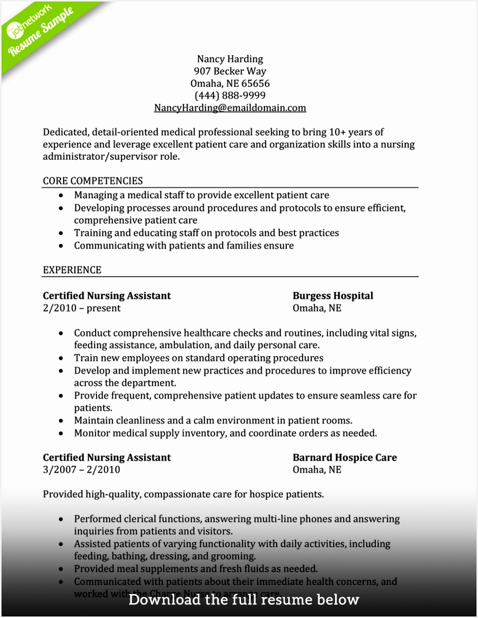 how to write a perfect cna resume examples included 1216940juxly