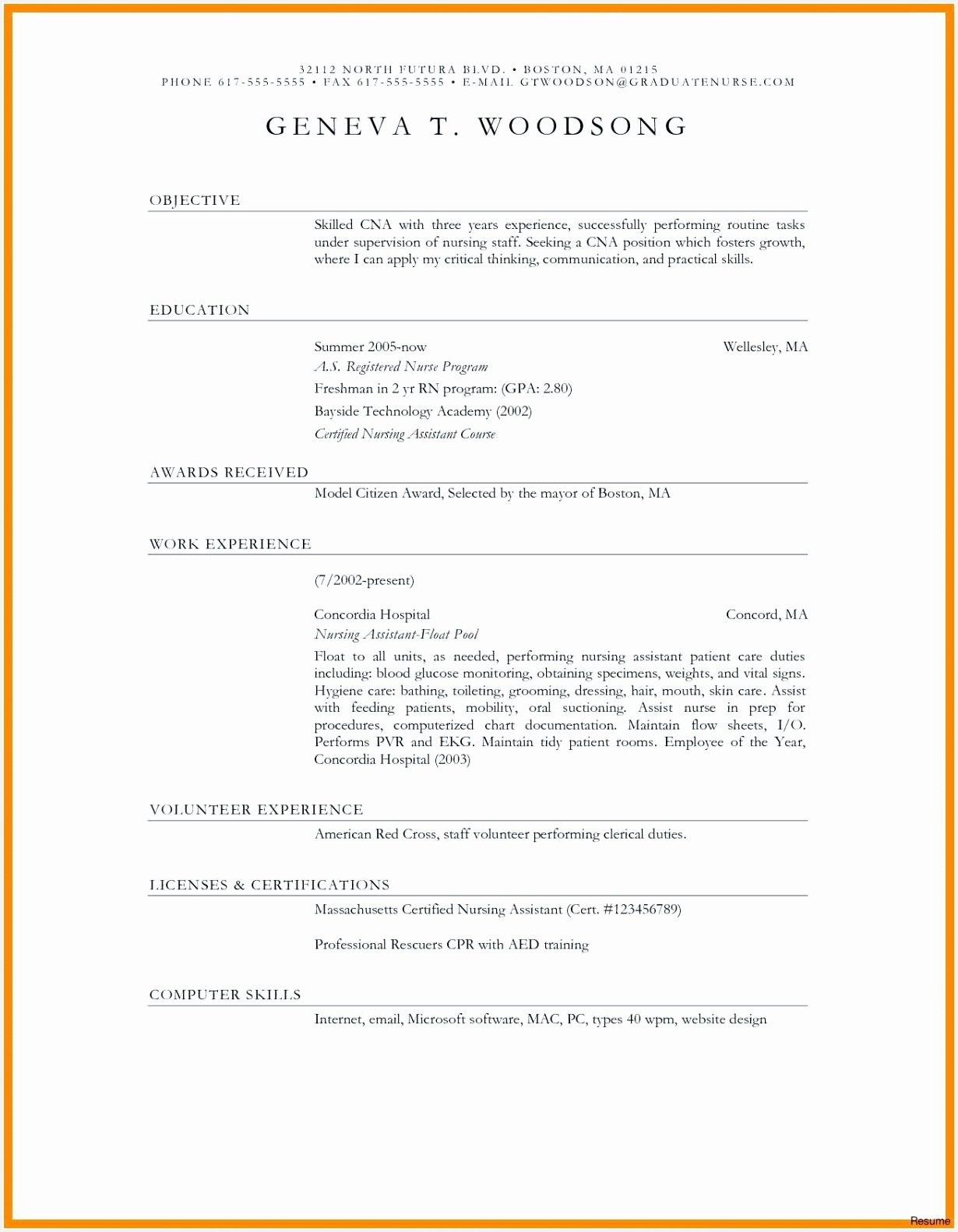 Cna Resume Skills New Elegant Skills for A Resume Fishing Resume 0d Skills Based Resume 15821230nkgfy
