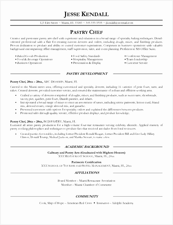 Cook Resume Skills Best Best Chef Resume Examples Getting A Job as An Apprentice Electrician 775599xluhn