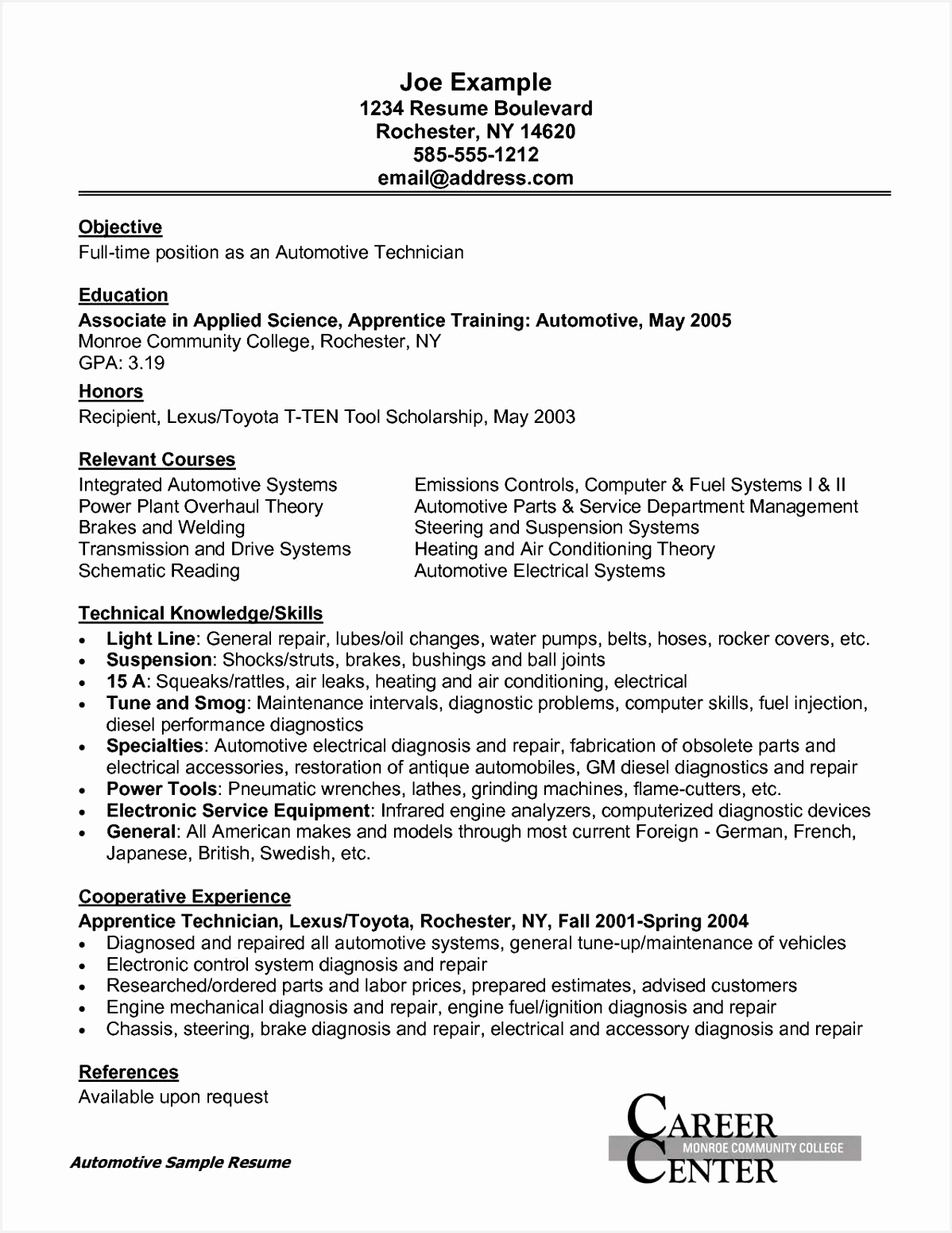 resume for students template