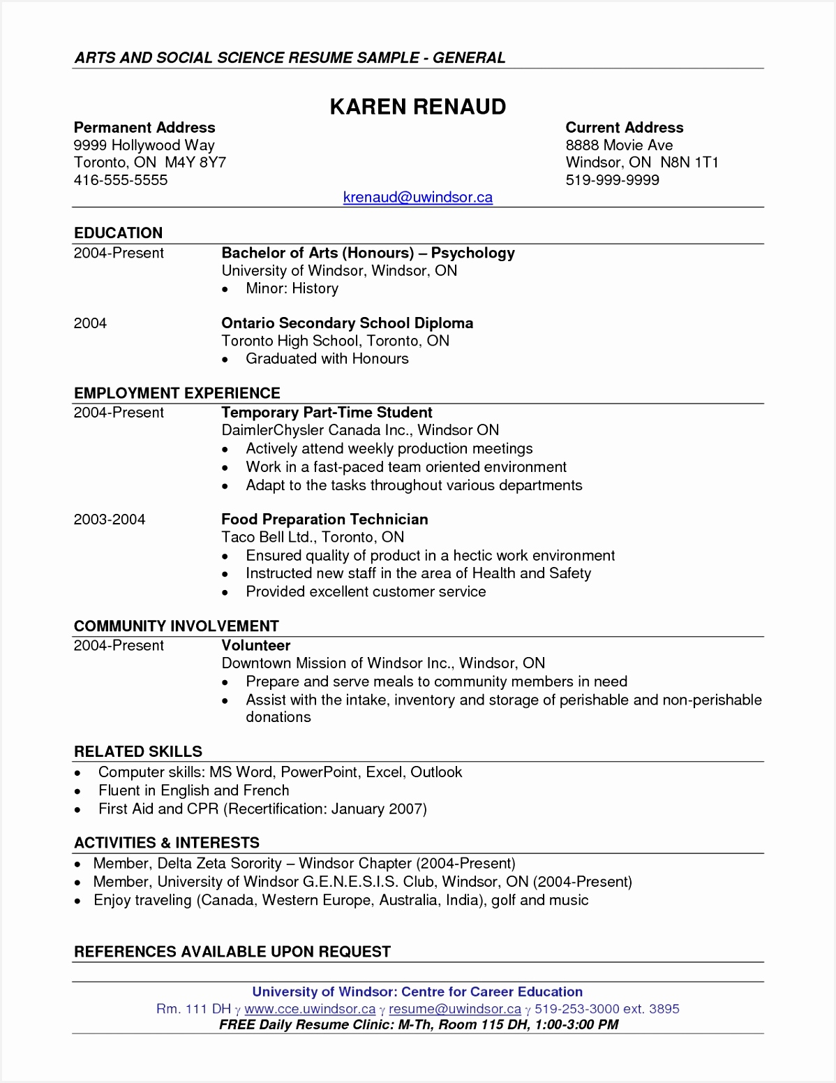 Environmental Health Specialist Sample Resume Geavh Best Of Resume Summary Examples Puter Science Student Cool Stock Resume15511198