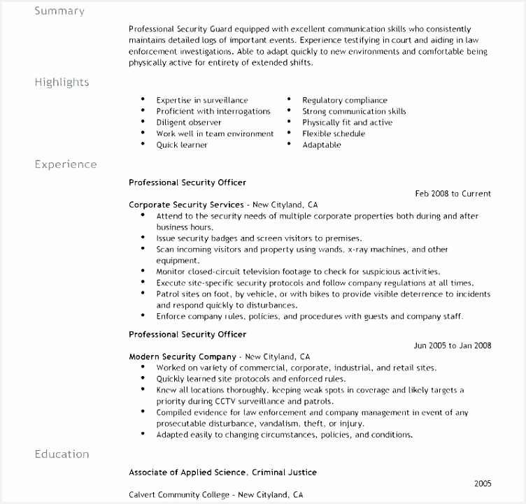 Security Officer Cover Letter Examples: Security Officer Cover Letter