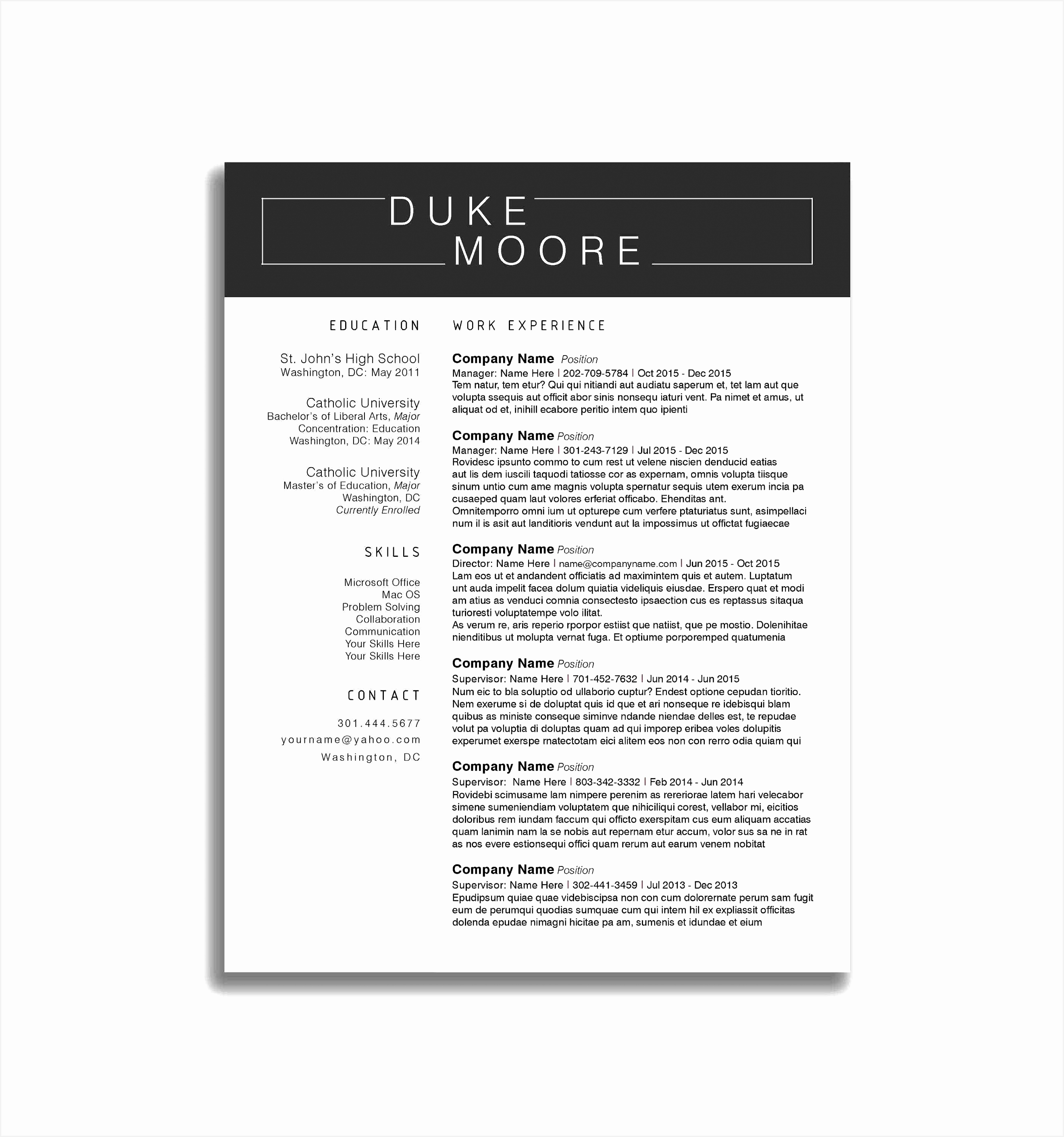 Resume Outline for High School Students Sample Resume Dos and Don039ts for High School Students Typical 282026394wmjw