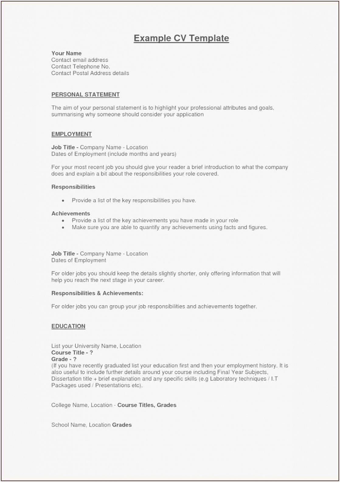 First Resume Template Australia New ¢–· Example Perfect Resume Fresh Examples Resumes Ecologist Resume 0d 158211180kbks