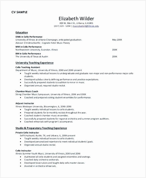 25 Inspirational Good Sample Resume s 6865648fkfz