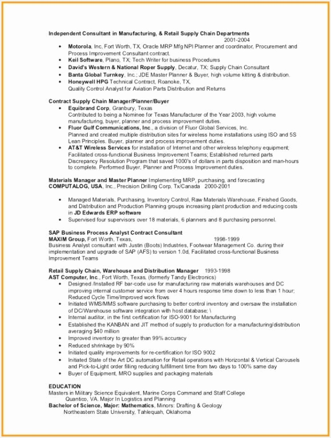 Forecasting Analyst Sample Resume Qthfu Inspirational 67 Best S Sap Project Manager Resume Examples Of 4 forecasting Analyst Sample Resume