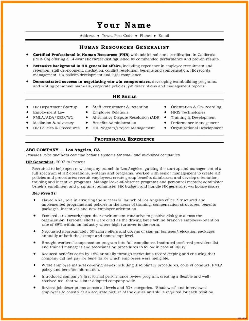 Diverse problem solving resume
