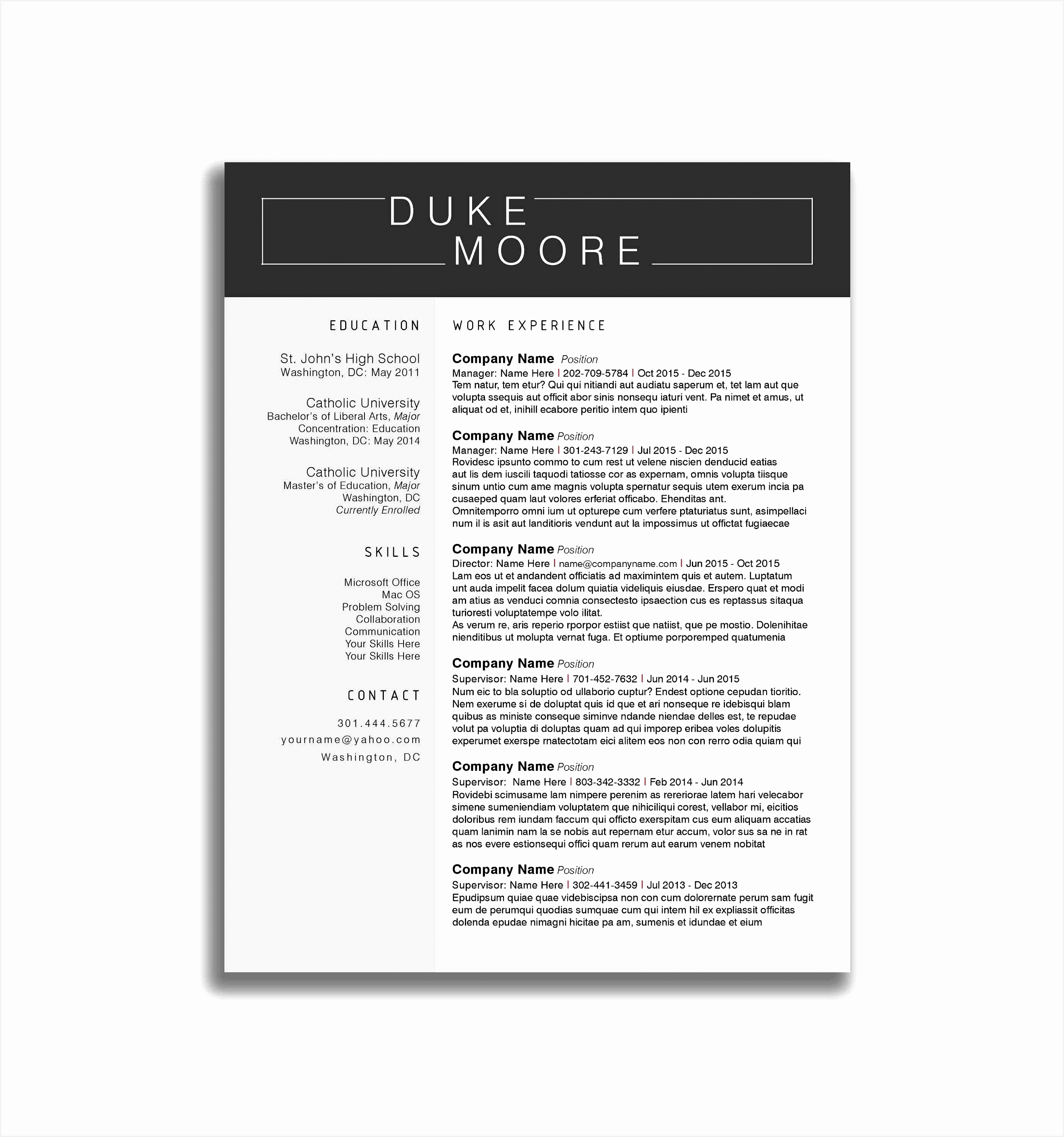 Free Online Resume Templates Word Jexfs Lovely 20 Elegant Line Resume Builder Of 10 Free Online Resume Templates Word