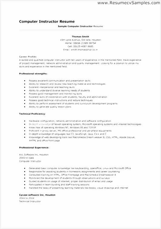 Healthcare Resume format Zgkkg New 30 Professional Job Profile Picture752531