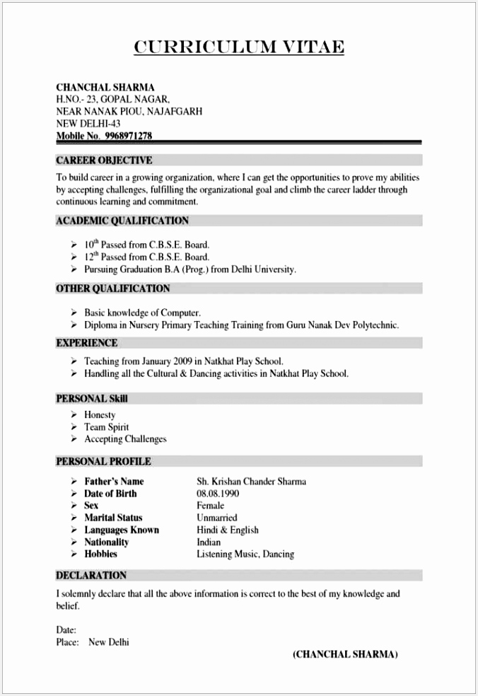 Generic Cover Letter for Teachers New Best Cv Samples Free Resumes Resume Examples 0d Templates 9846766nAhk