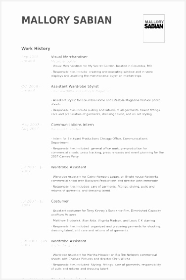 Junior Merchandiser Resume Hfwri Beautiful Merchandising Resume Examples564376