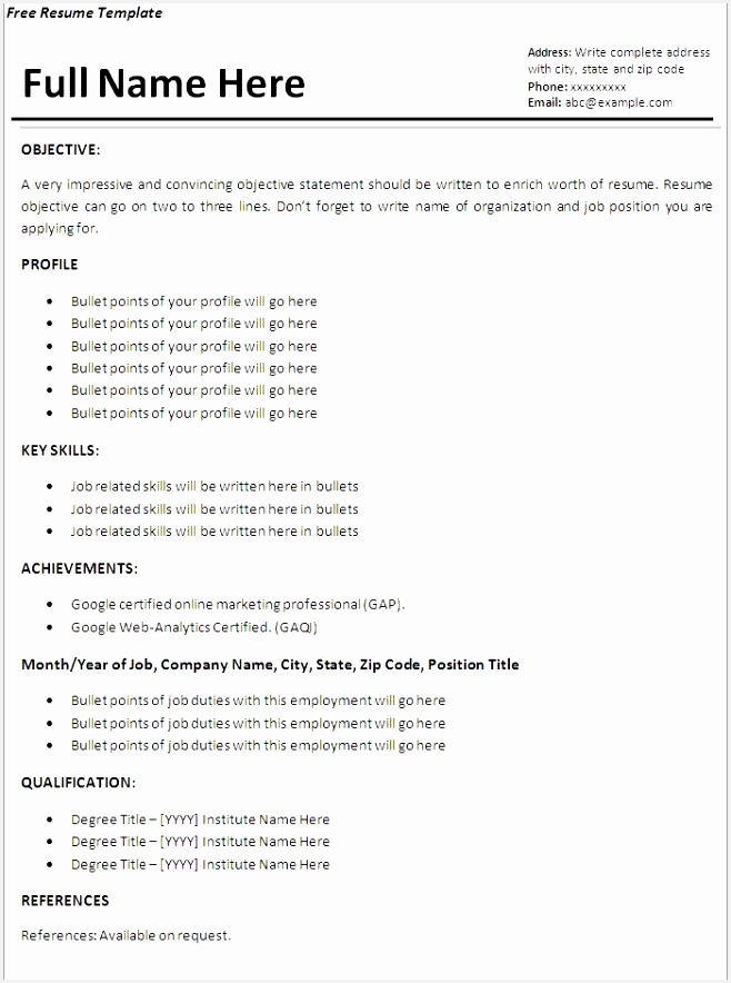 32 best resume example images on pinterest sample resume resume 884658tnhfq