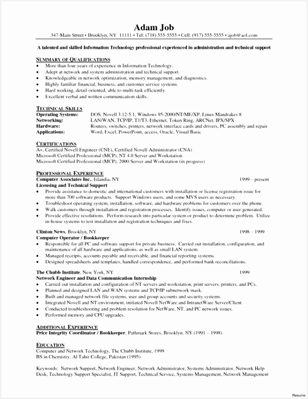 Network Specialist Sample Resume Wudss Best Of Letter Sample Financial Support Beautiful Network Engineer Cover Le Of 8 Network Specialist Sample Resume